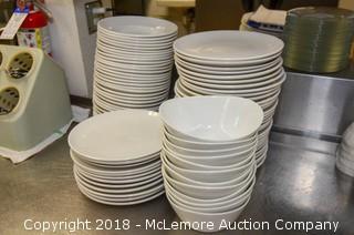 Plates, Bowls and Soup Bowls