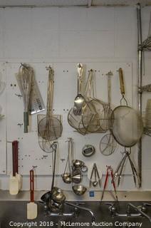 Spatulas, Fry Baskets, Whisks, Tongs, Ladles