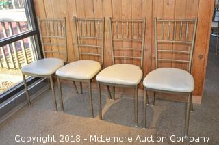 Dining Chairs with Metal Frame