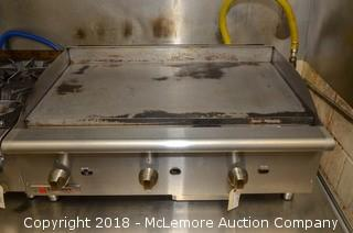 Cecilware Gas Flat Top Griddle