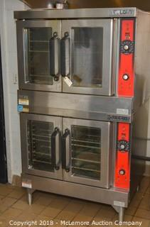 Vulcan Double Decker Gas Convection Oven