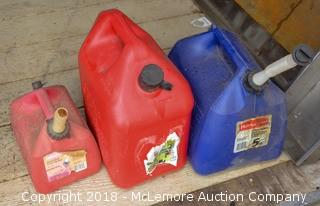 (4) Gas Containers