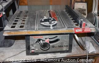 """Kmart Benchtop 10"""" Table Saw"""