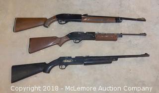 (3) Pellet Guns