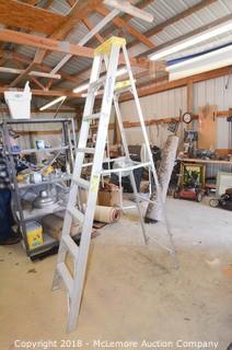 Werner 8' Aluminum A-Frame Ladder