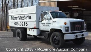 1997 GMC 5500 Series Chipper Truck - See Video