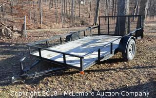 6' X 12' Dovetail Trailer