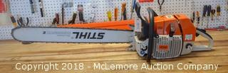 Stihl Brand Chainsaw Model MS 880 Magnum - See Video