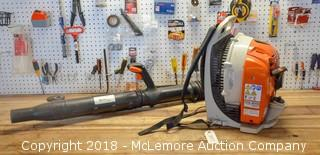 Stihl Brand Back Pack Blower Model BR 430 - See Video