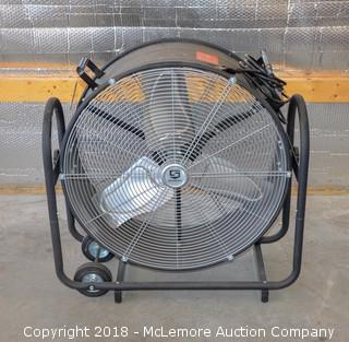 High Capacity Rotating Shop Fan