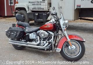 2008 Harley Davidson Heritage Soft Tail Classic - See Video