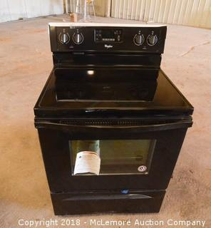 Whirlpool 4 Burner Smooth Top Electric Range