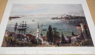 Print of Istanbul, Turkey