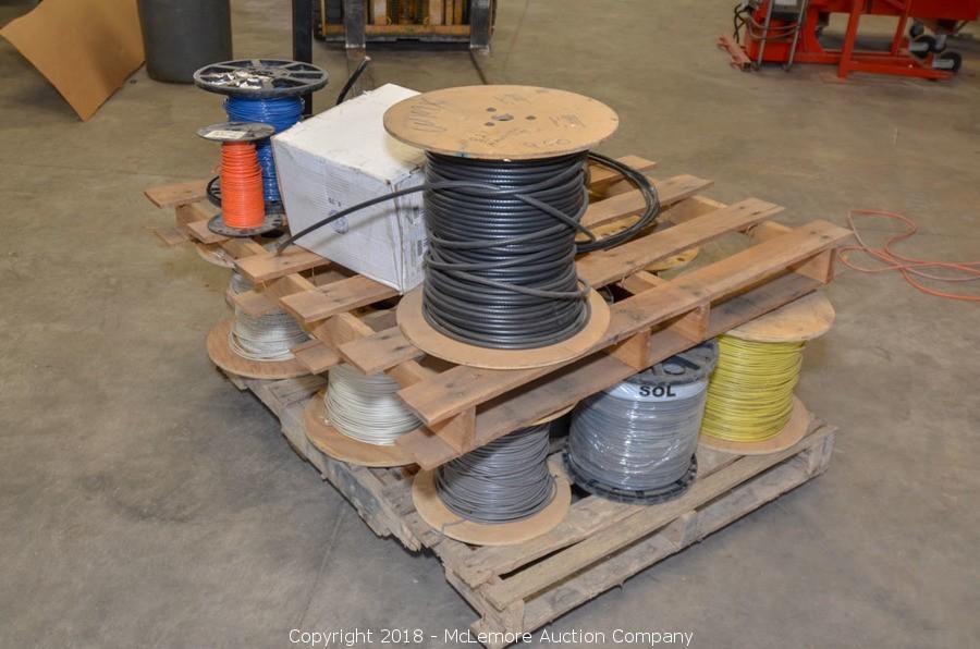 McLemore Auction Company - Auction: Surplus Tools, Equipment