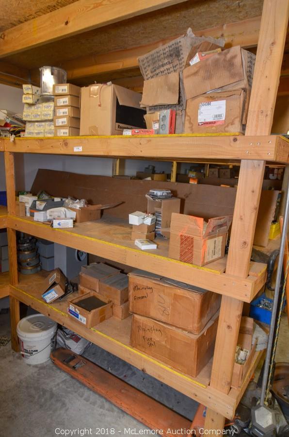 mclemore auction company auction surplus tools equipment light