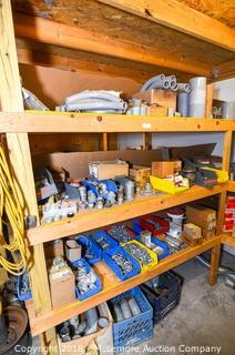 Shelves of Electrical Parts and Equipment