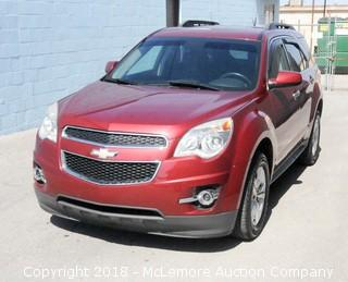 2012 Chevrolet Equinox LT with a 2.4L L4 DOHC 16V Engine