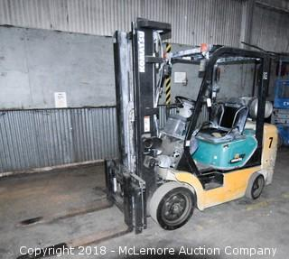 Komatsu FG30SHT-14 Propane Forklift 5,000lb Capacity
