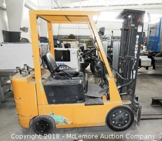 Mitsubishi Caterpillar Forklift, Propane, 5,000lb Capacity
