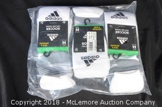 Bundle of Adidas Athletic Soccer Socks