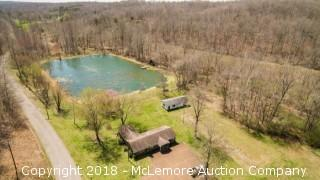 Former Office, Pond and Cabin on 52.05± Acres