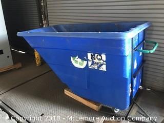 Large Plastic Dumper Bin