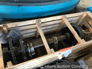 Crate with Shaft, Gears and Bearings