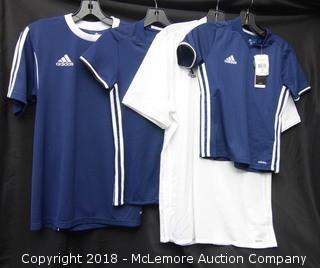 (4) Adidas Soccer Jersey's