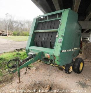 John Deere 535 Round Baler with Bale Trak  - Call (615) 509-2428 for location info