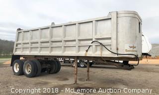 Sanderson Aluminum Dump Trailer - Call (615) 509-2428 for location info