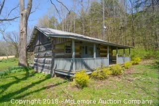 6.61± Acres with Historic Log Cabin - Updated Acreage