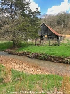 33.24± Acres with Historic Log Barn - Updated Acreage
