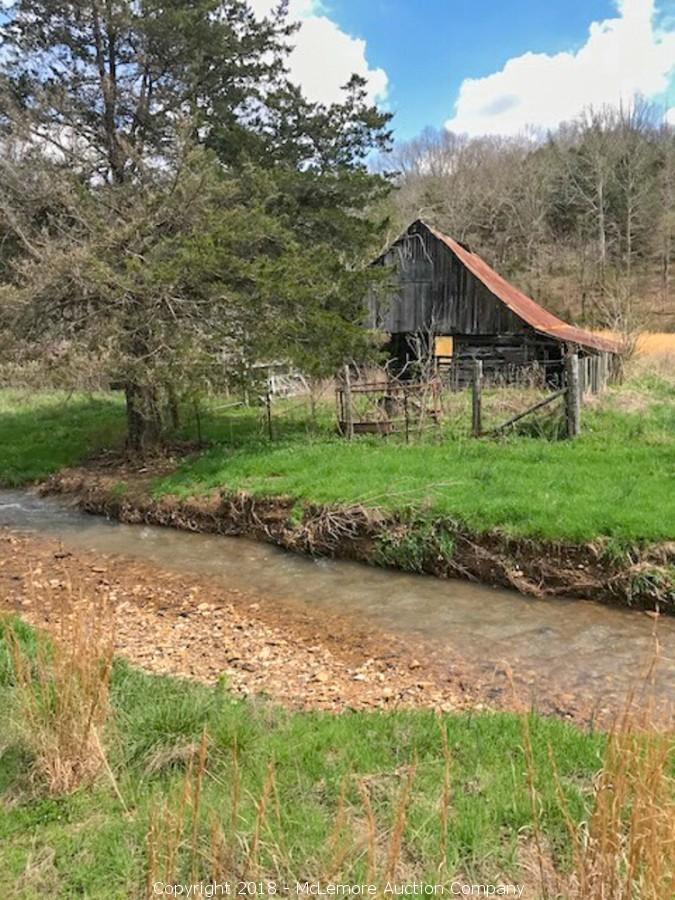 118± Acres Selling in 5 Tracts with Historic Cabin and Barn in Wayne and Hardin Counties