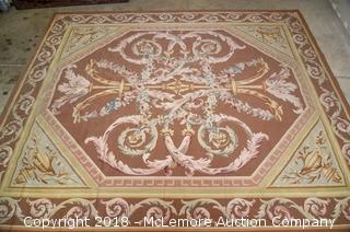 French Aubusson Area Rug