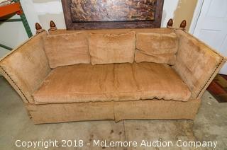 High-Back Upholstered Sofa