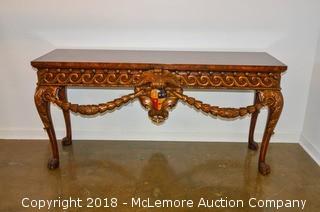 Maitland-Smith Ornate Side Table