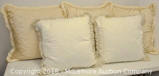 Custom Handmade Silk Pillows