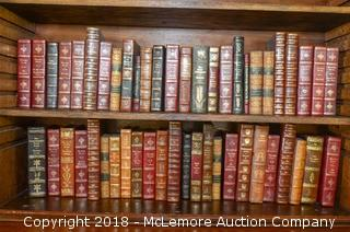 Collection of Leather Bound Books