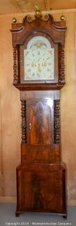 English Tall Case Clock by Shakeshaft of Preston Circa 1820