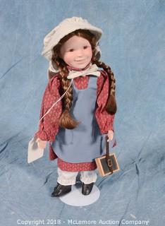 "Ashton-Drake Galleries ""Laura"" Collectable Doll"