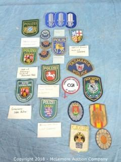 Assortment of European and Australian Iron Patches