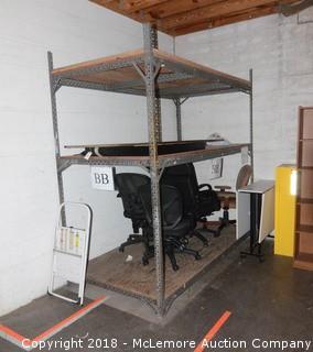 8' x 10' Industrial Shelving