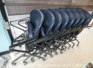 8 Torsion on the Go Fold Up Chairs Designed by Giancarlo Pinetti