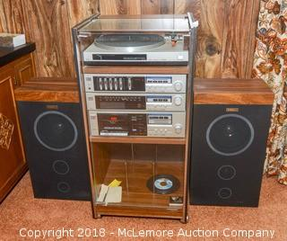 Fischer Tuner, Cassette, Amp and Record Player