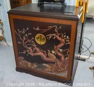 Vintage Projector TV Cabinet (No TV)