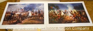 (2) Civil War Prints (Battle of New Orleans)