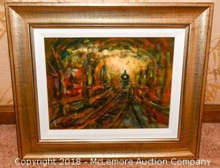 """""""Monet Train"""" by John Robert Willer"""