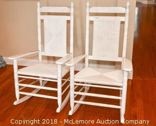 (2) Two Rocking Chairs
