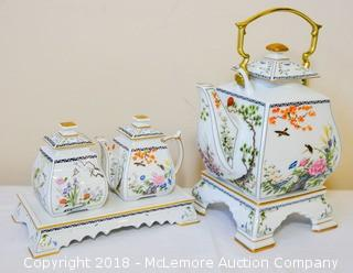 China Tea Set from The Franklin Mint