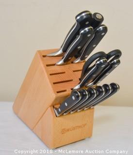 Wustoff Knife Block Set